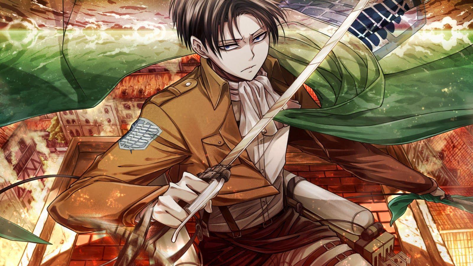 Levi Ackerman Attack On Titan Anime Attack On Titan Levi Anime