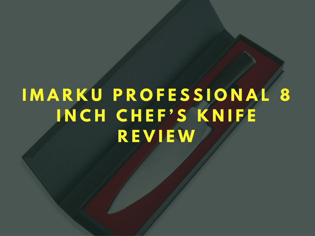 Imarku Professional 8 Inch Chef's Knife Review Best cake