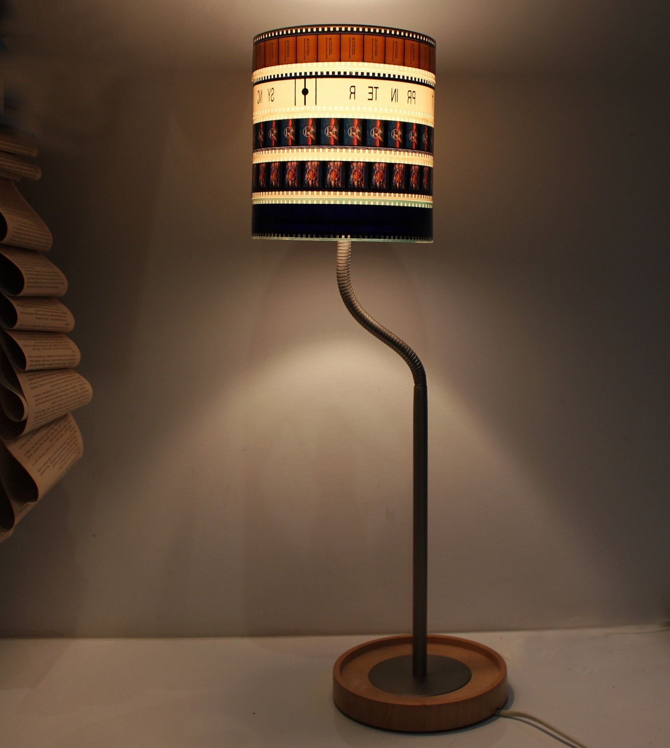 Vintage Movie Reel Film Lamp Shade Lamp Cool Lamps Lamp Shade