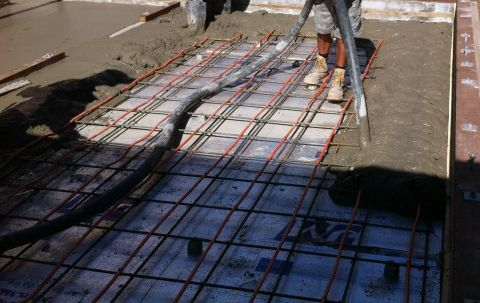 Concrete radiant floor heating hydronic system can be for Best flooring for hydronic heat