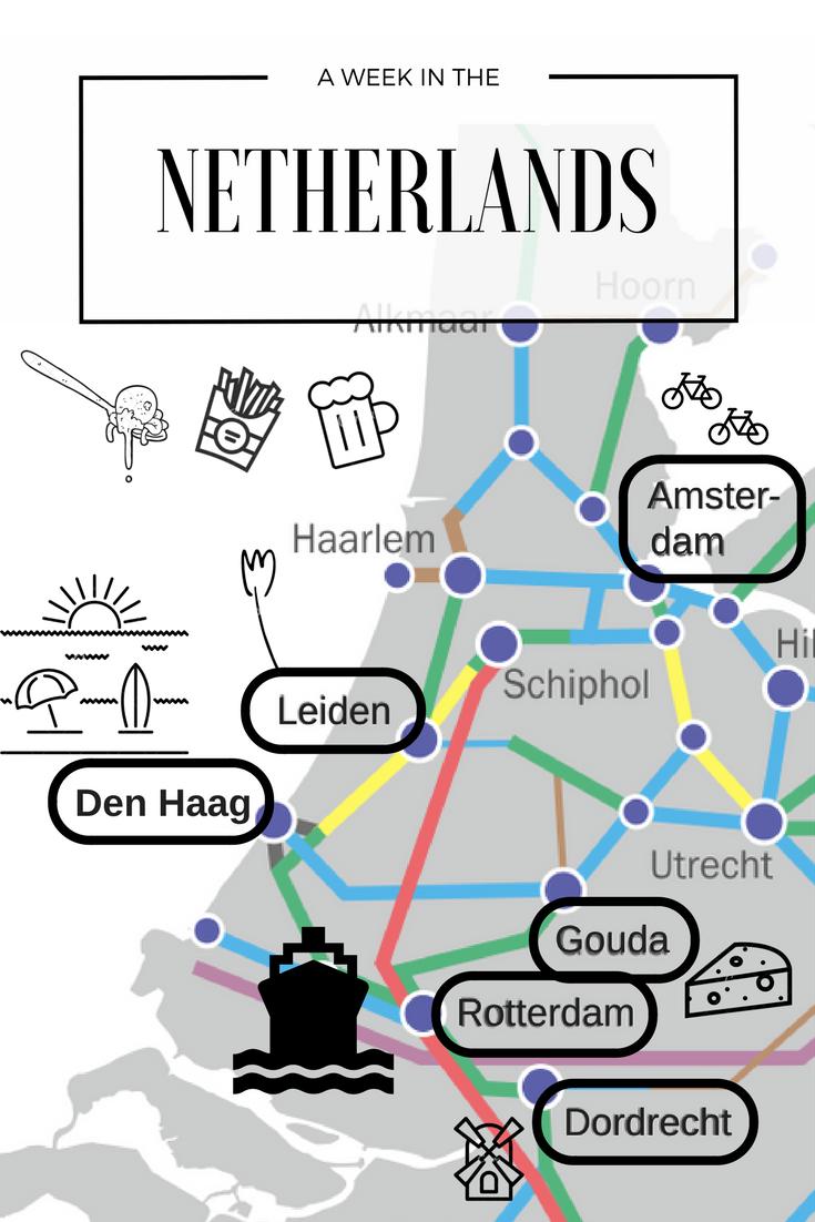 Netherlands Niederlande Holland Reisen