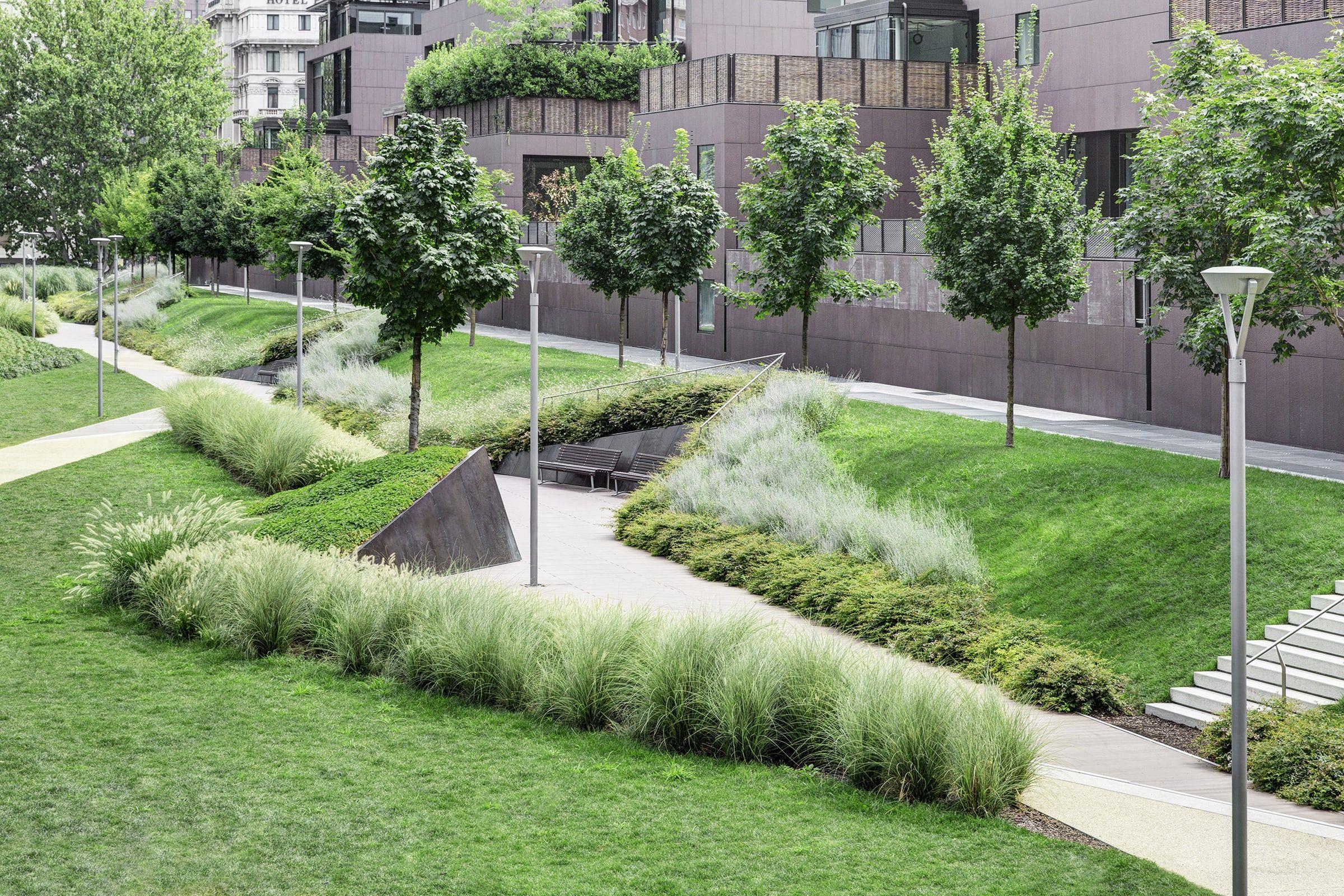 Land Giovanni Nardi Varesine Porta Nuova Divisare Public Garden Design Public Garden Landscape And Urbanism
