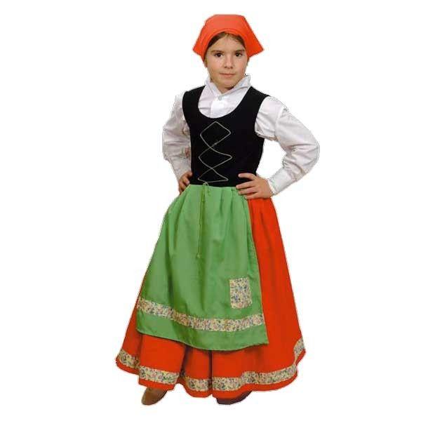 Disfraz de pastora ni a disfraces de navidad pinterest - Disfraces infantiles navidad ...
