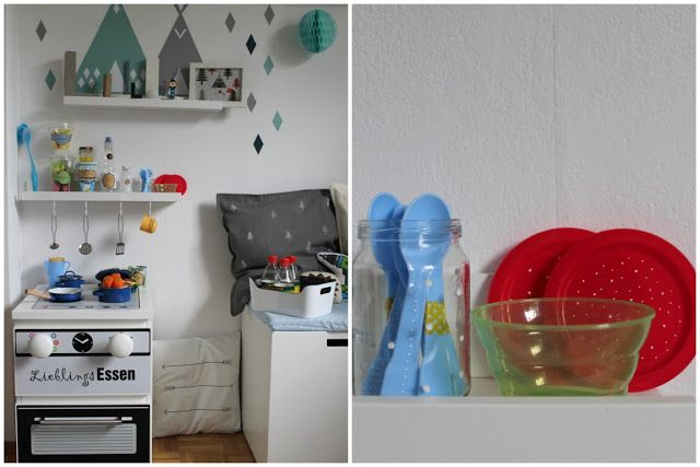 Kinderzimmer Make Over zu Weihnachten mit IKEA Hacks Jules