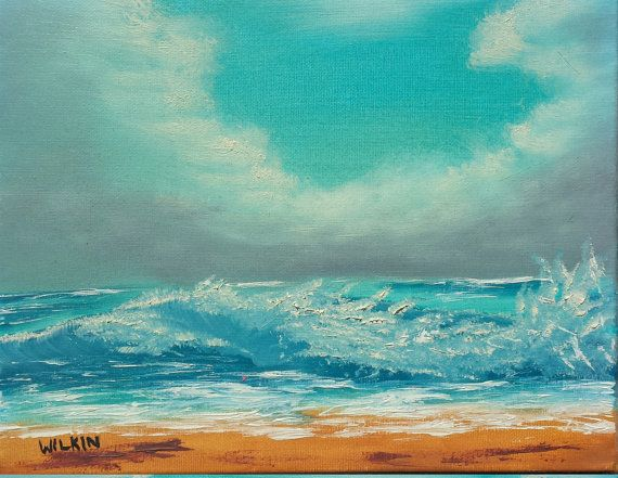 Check out this item in my Etsy shop https://www.etsy.com/listing/399407493/waves-crashing-on-the-beach