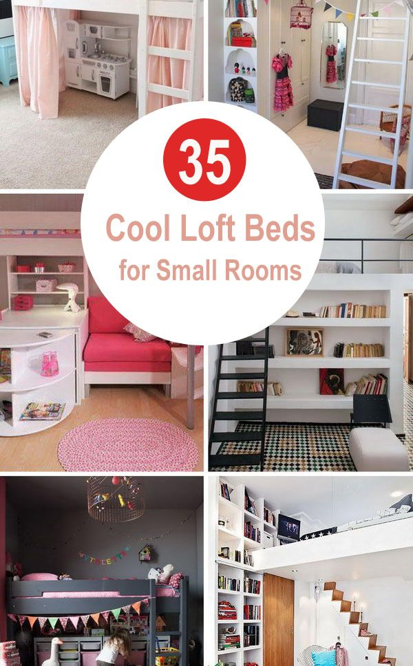 35 Cool Loft Beds for Small Rooms 2018 images