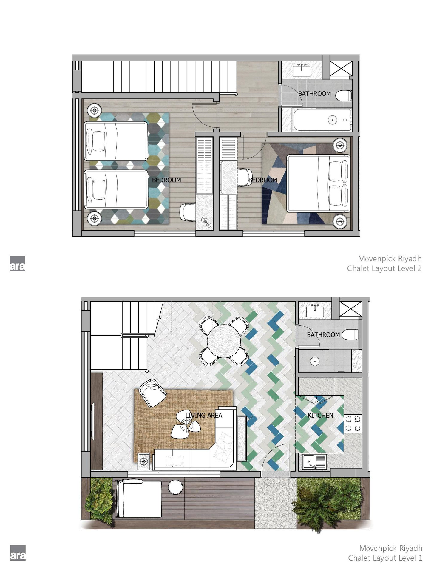 Moevenpick Riyadh Chalet Floor Plan Town House Floor Plan Floor Plans Hotel Plan