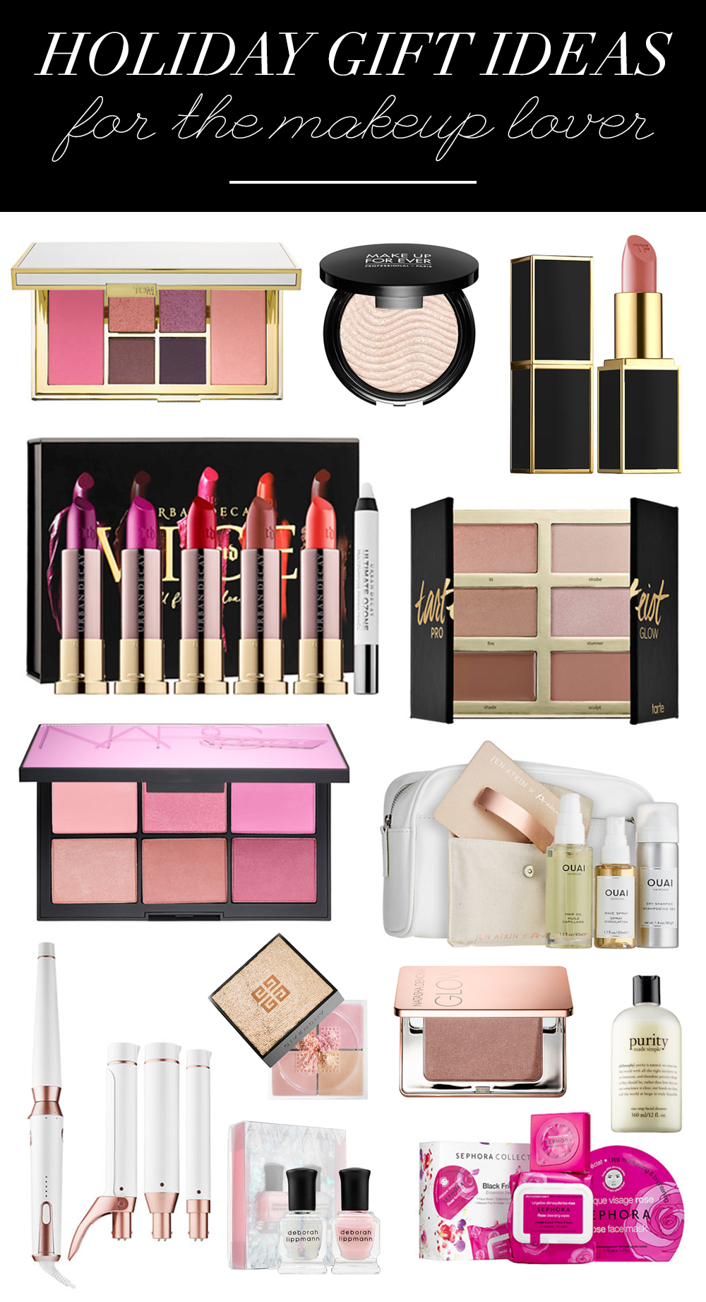 Sephora Gift Guide Teresa Caruso Beauty Products Gifts Gifts For Makeup Lovers Makeup Christmas Gifts