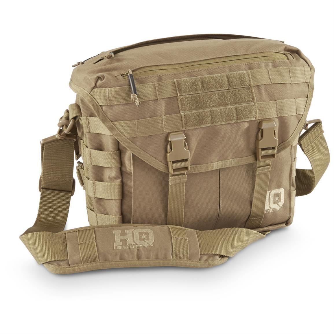 Hq Issue Tactical Shoulder Bag Black