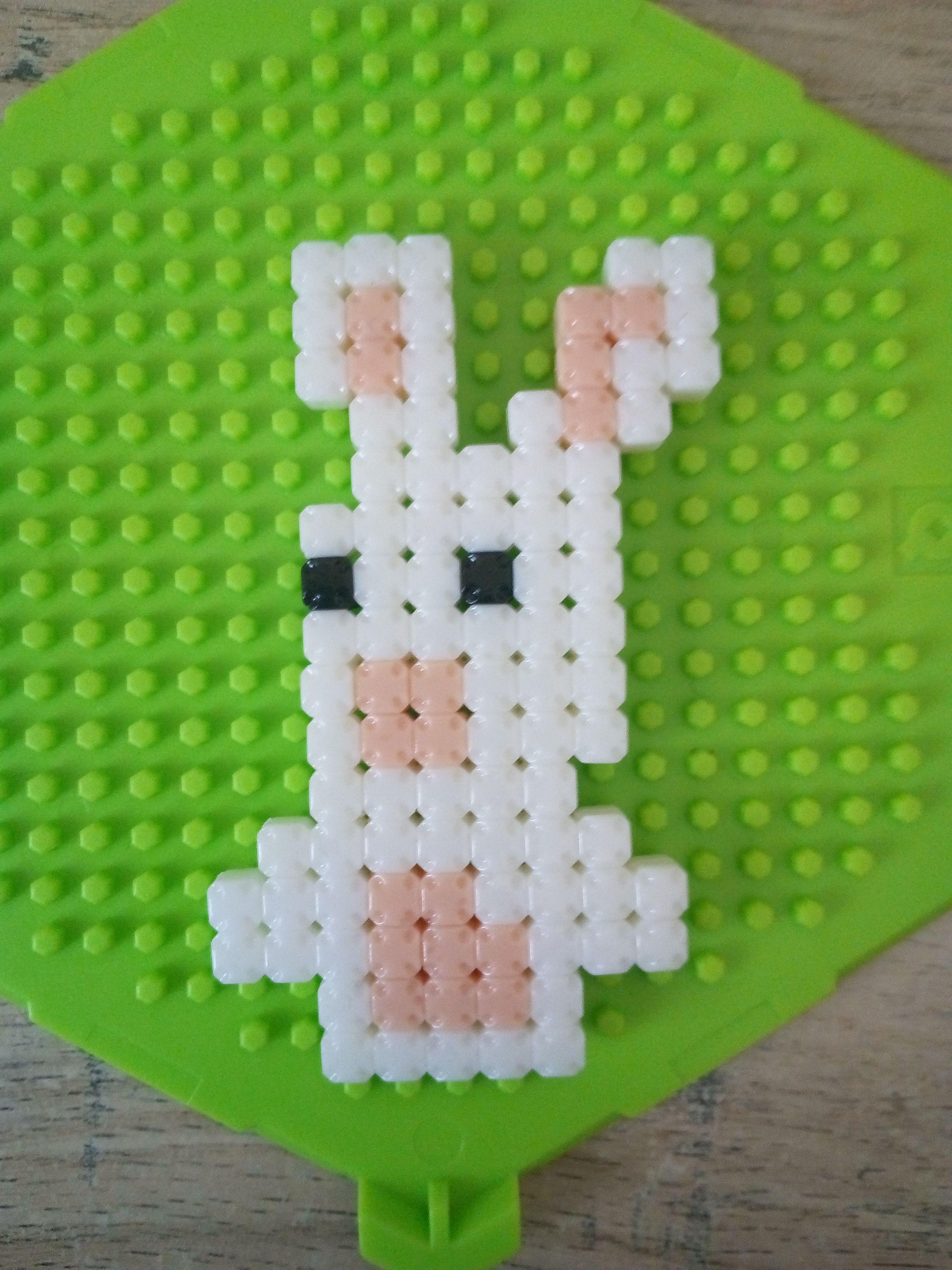 Lapin Cretin Activite Enfant Dessin Pixel Lapin Cretin