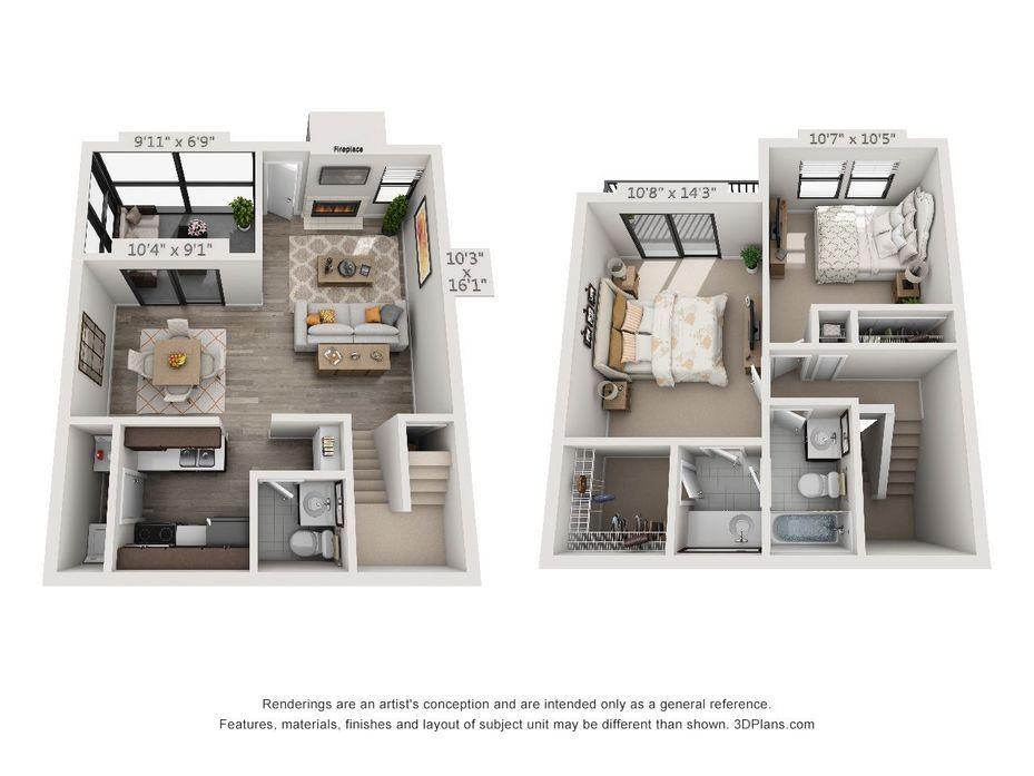 3d Furnished Sims House Plans House Plans Apartment Floor Plans