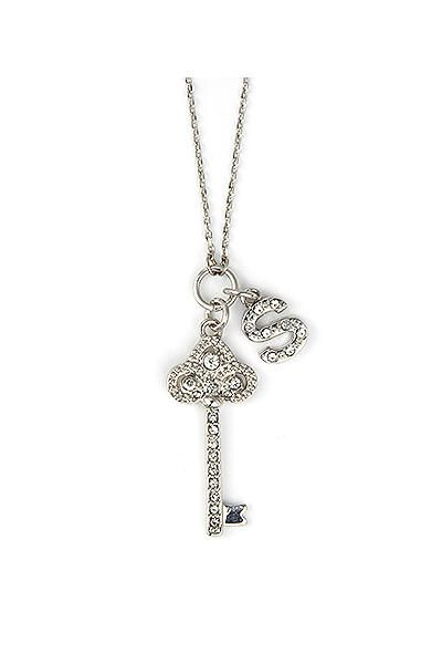 Db excl personalized fleur de lis key necklace nl3305 82716 db excl personalized fleur de lis key necklace nl3305 aloadofball Images