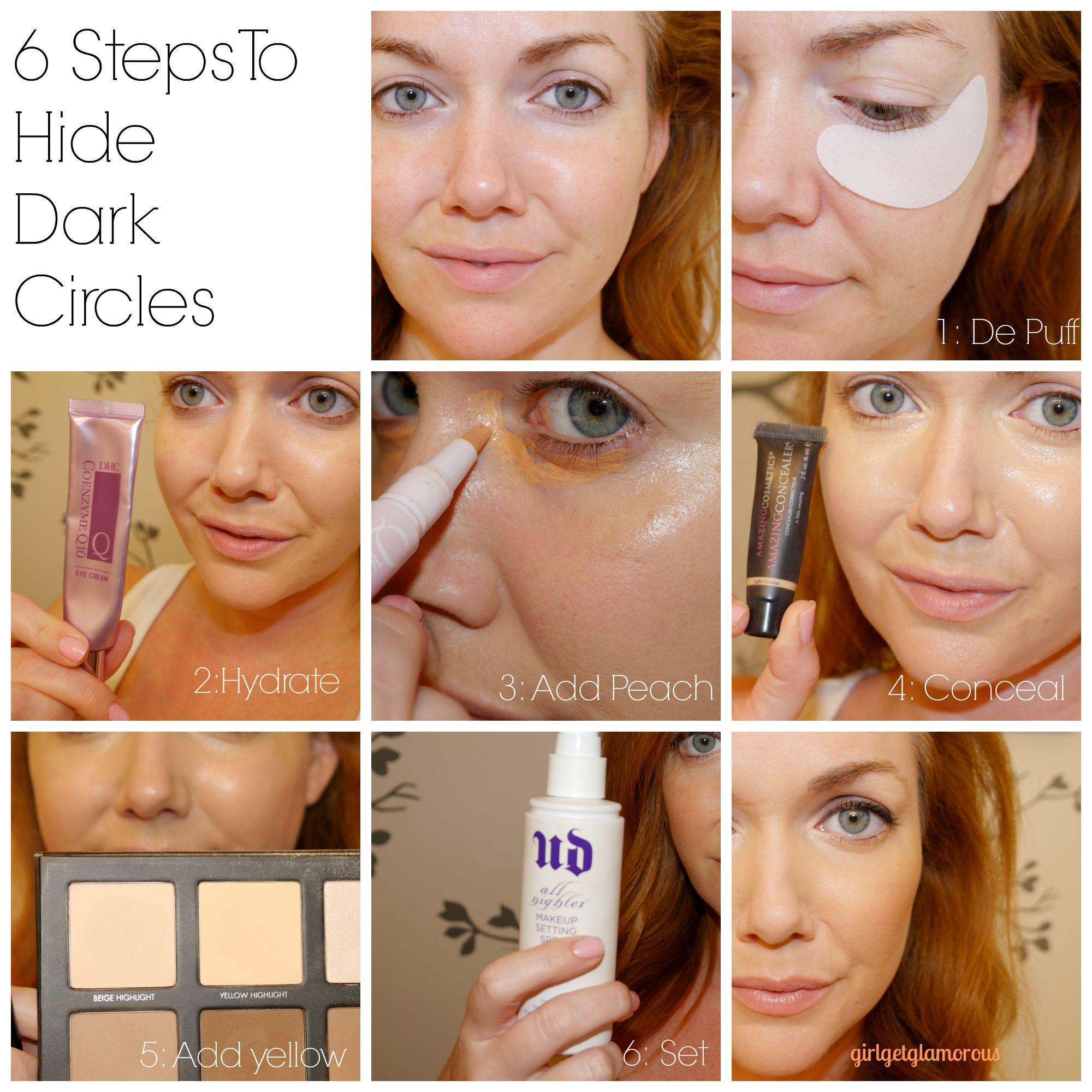 Pack Your Bags How To Hide Dark Under Eye Circles Bags Girlgetglamorous Eye Bags Makeup Undereye Circles Dark Under Eye