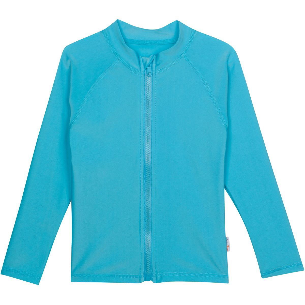 SwimZip UPF 50 Kids Long Sleeve Zipper Rash Guard Swim Shirt Multiple Colors