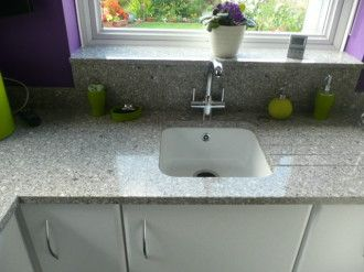 Silestone Alpina White Love The Built In Drainage Diy Remodel