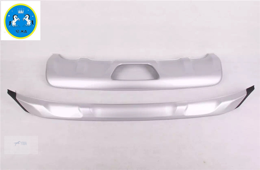 73.04$  Buy now - http://alimkt.worldwells.pw/go.php?t=32697837811 - Protector For Nissan Murano 2015 2016 ABS Front + Rear Bumper Skid Guards Plate 2 pcs / set