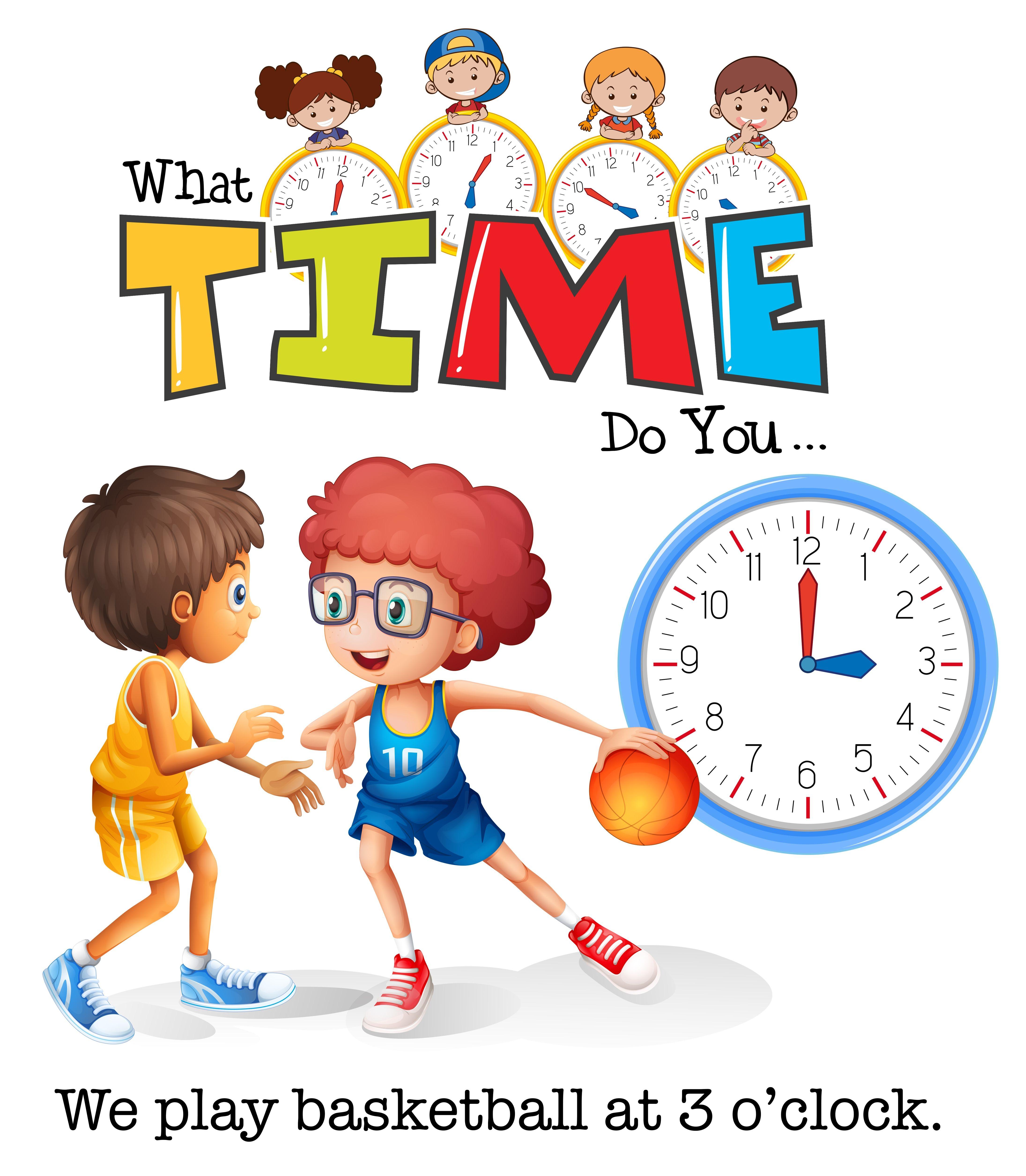Play Time Clipart Clip Art Kids Clipart Children Illustration