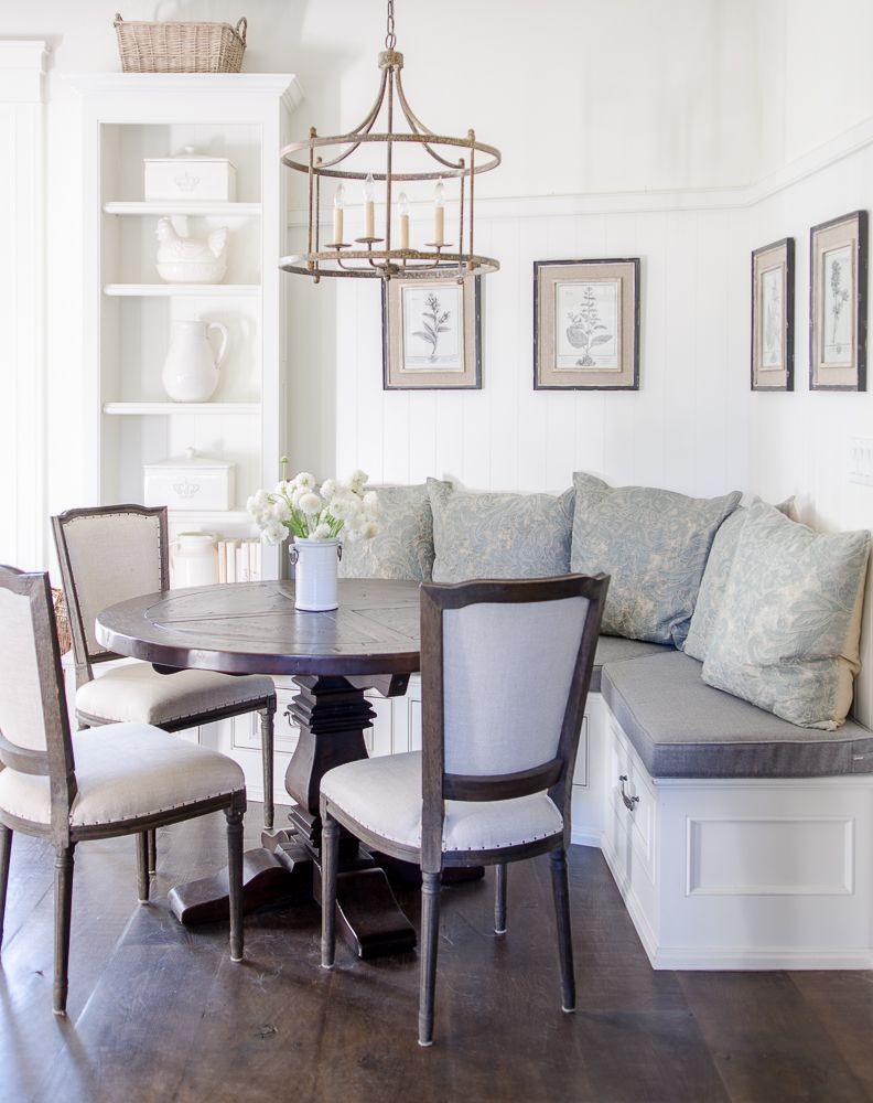 How I Made My Breakfast Nook Super Cozy Sanctuary Home Decor