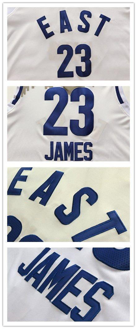 quality design a1e74 b542e Cleveland Cavaliers #23 LeBron James 2016 All Star NBA ...