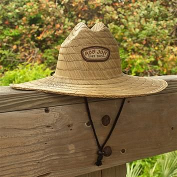 Ron Jon Straw Lifeguard Hat  0d0f7fa4e62