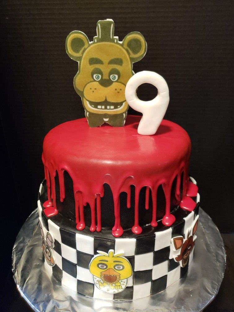 5 nights at freddys cake cake decorating cake