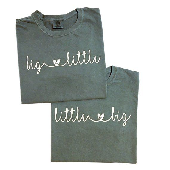Big Little Reveal Sorority Shirt #biglittlereveal