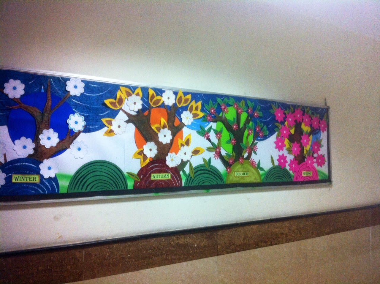 Art craft ideas and bulletin boards for elementary schools vegetable - Art Craft Ideas And Bulletin Boards For Elementary Schools Seasons Bulletin Board