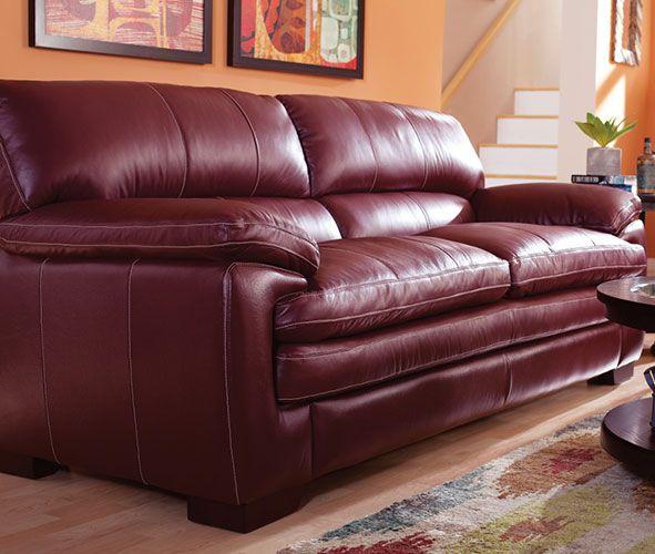 Dexter Sofa In 2020 Sofa Leather Reclining Sofa Leather Sofa