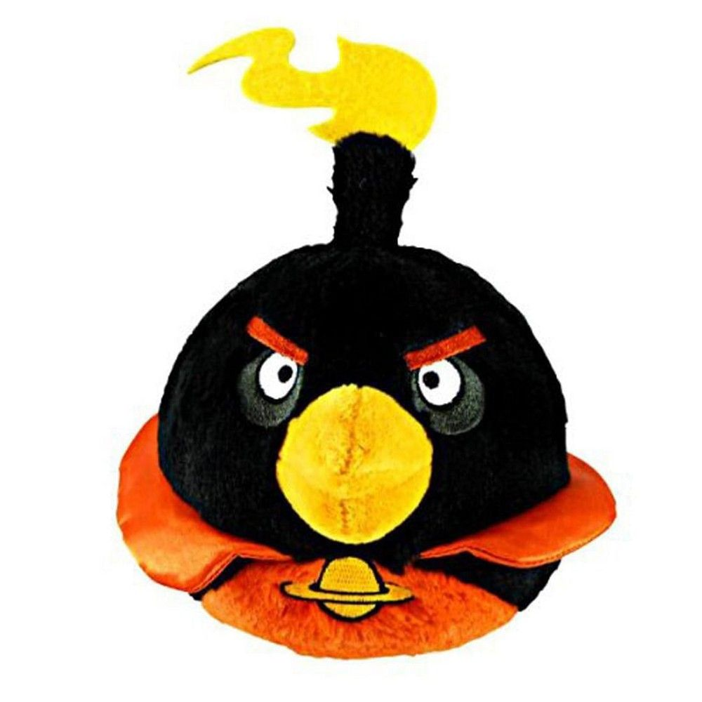 Angry Birds 8 inch. BOMB Plush Toy with sounds