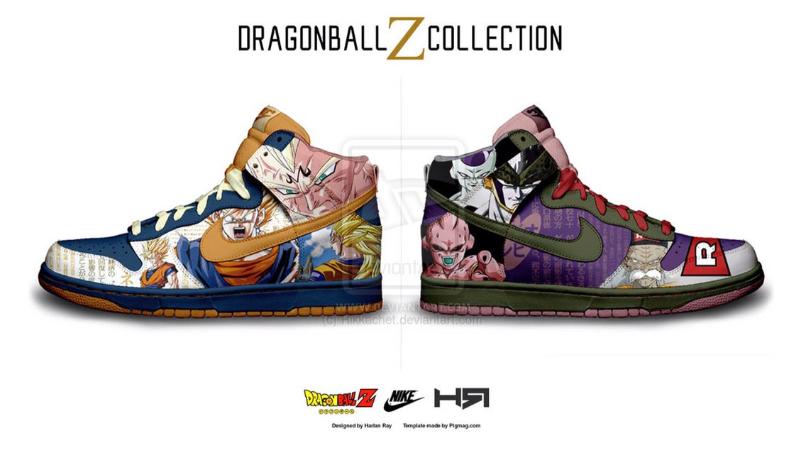 Dragon ball Z Nike High top  f898e2774