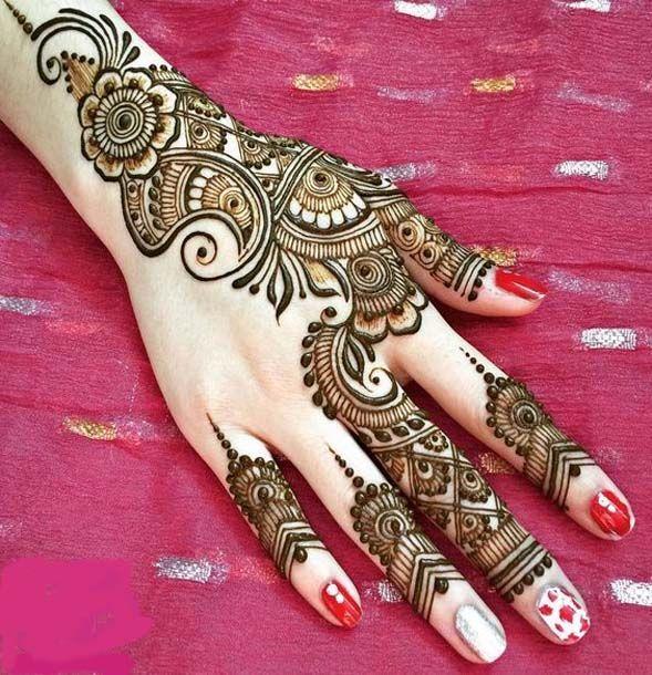 Mehndi Designs For Stylish Girls Henna Designs Pinterest
