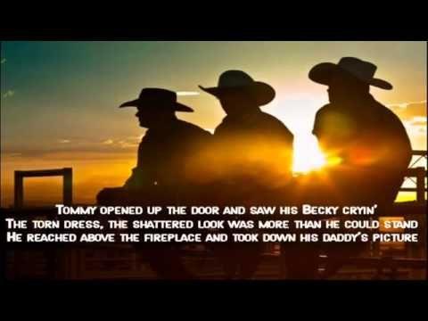 Kenny Rogers Coward Of The County Lyrics Video Coward Of The County Country Music Lyrics Lyrics