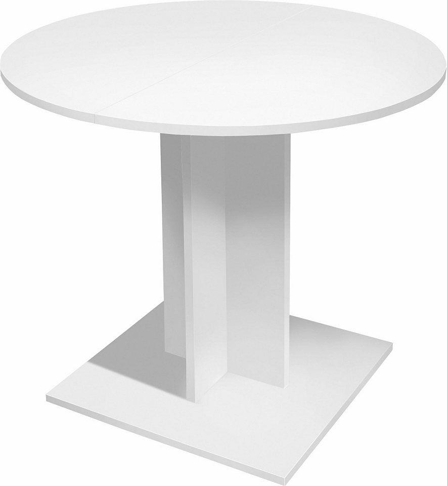 Esstisch Rund Durchmesser 80 Cm Mit Auszugsfunktion Jetzt Bestellen Unter Https Moebel Ladendirekt De Kueche Und Esszi Esstisch Tisch Selber Bauen Esstisch