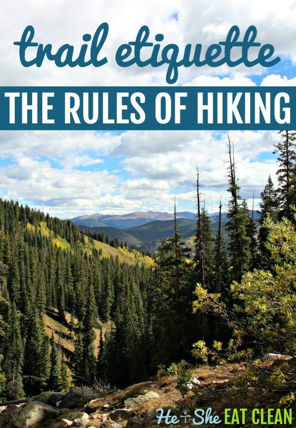 Photo of Trail Etiquette: The Rules of Hiking