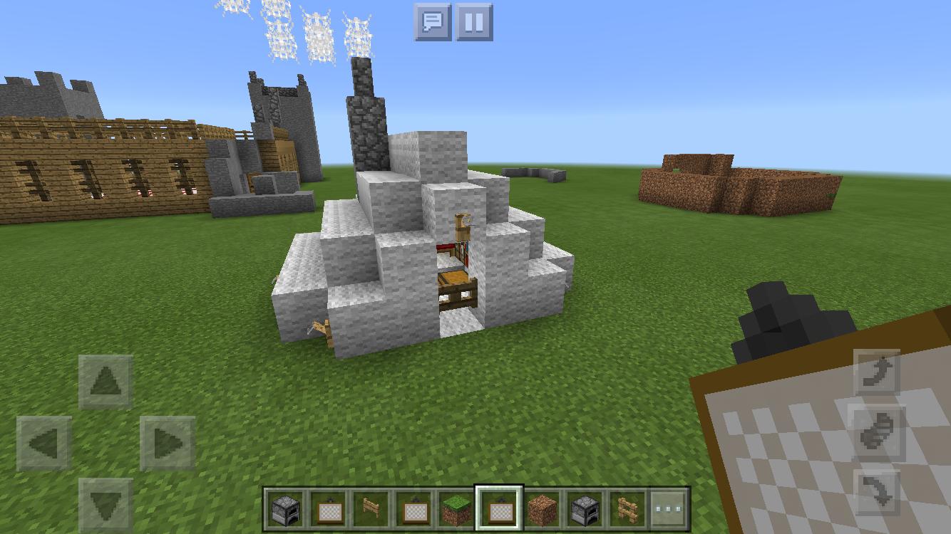 minecraft zelt bauen