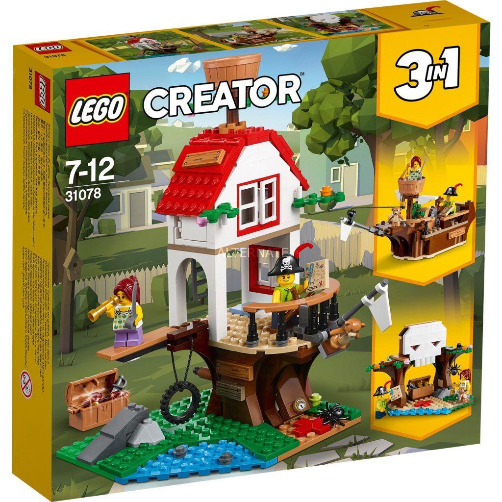 Lego Creator 3 In 1 Tree House Treasures 31078 Revealed The Brick Show Lego Creator Lego Creator Sets Lego