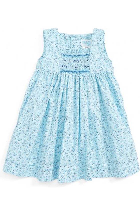 1f332b81d9df8 Free shipping and returns on Luli & Me Gingham Check Smocked Dress ...