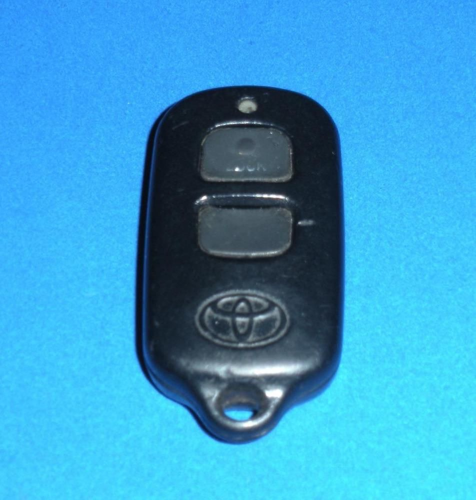 Toyota Keyless Entry Remote Fob Transmitter 3 Button Black