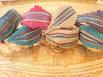 cavandoli macramé bracelets