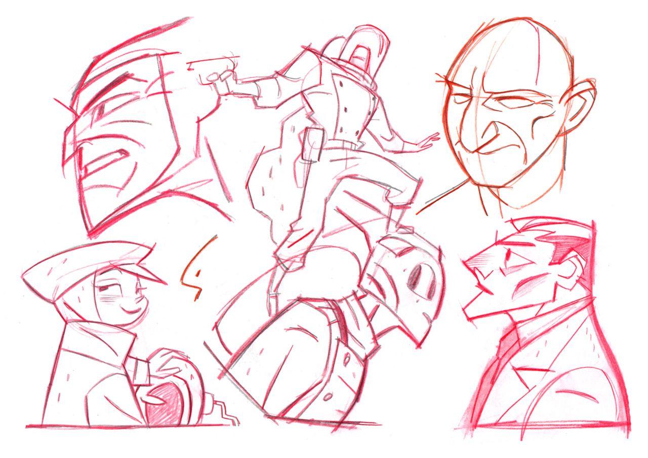 Concept Character Design Tutorials : Comic book artist shane glines abduzeedo graphic