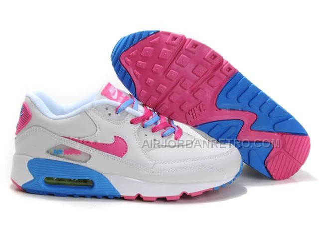 huge selection of bf1df 6e0b0 Find Discount Nike Air Max 90 Womens Pink White Blue online or in Footlocker.  Shop Top Brands and the latest styles Discount Nike Air Max 90 Womens Pink  ...