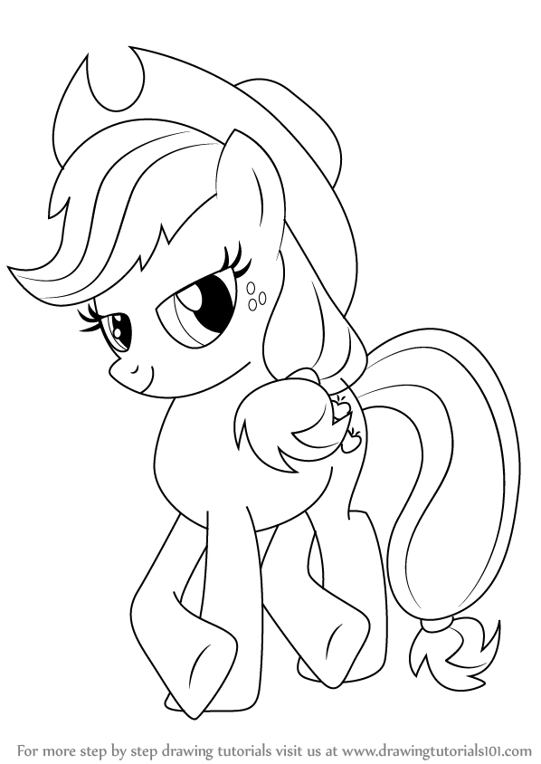 how to draw applejack from my little pony friendship is magic step 0png 598844 my little pony applejack pinterest best pony ideas