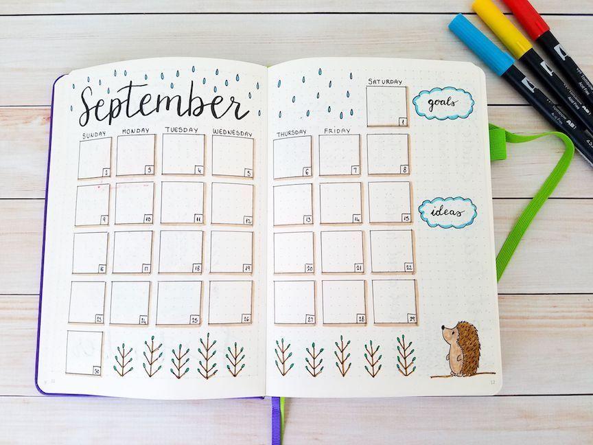 Plan With Me: My 2018 September Bullet Journal Setup