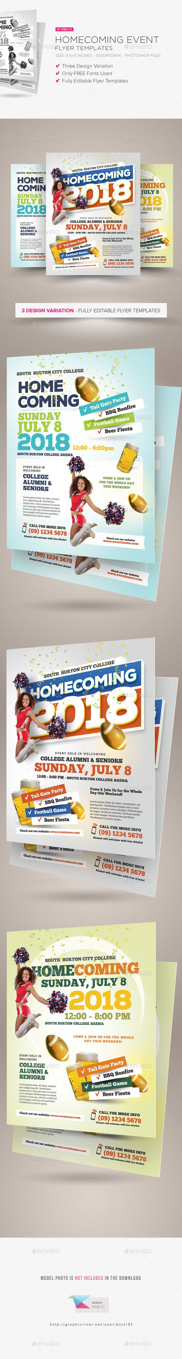 Pin By Dejunae Pickett On Diy Pinterest Flyer Template Event