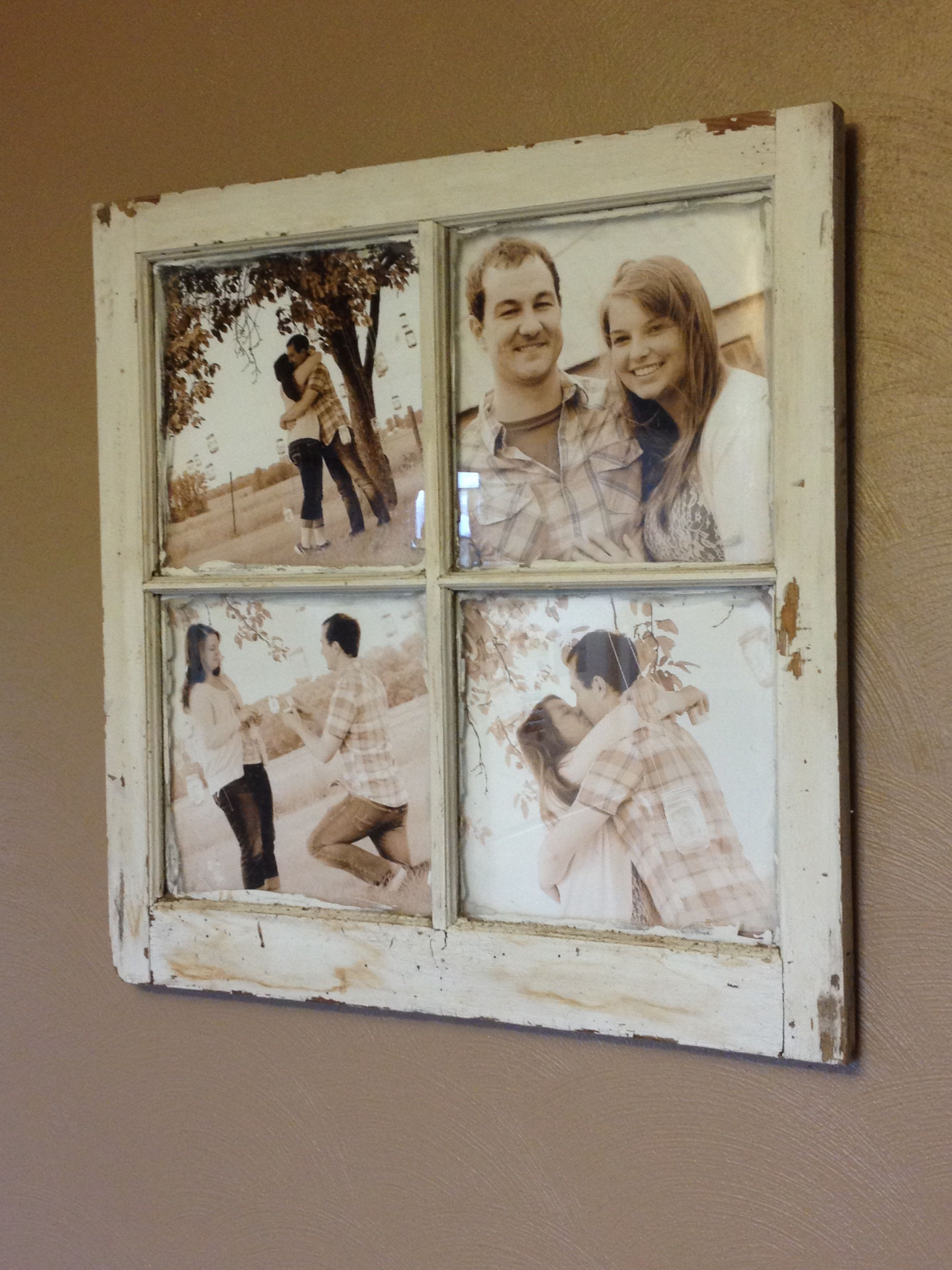 Old Barn Window Picture Frame | Craft Ideas | Pinterest | Ventana ...