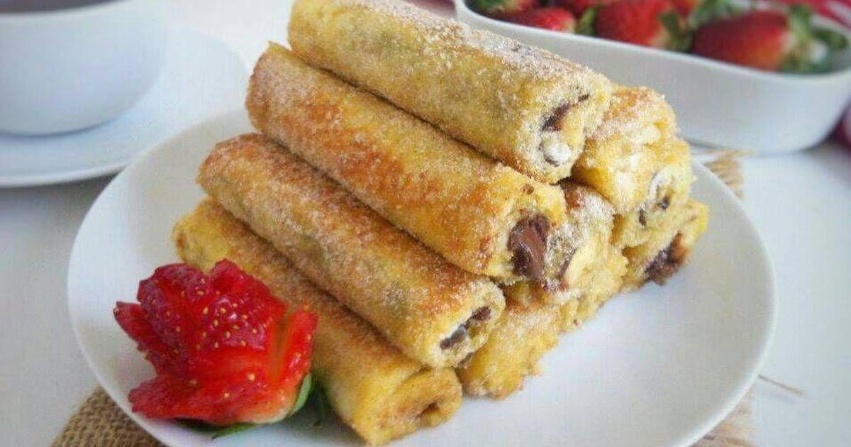 Resep Roti Tawar Goreng Pisang Nutella Oleh Fitri Sasmaya Resep Rotis Resep Roti Cemilan