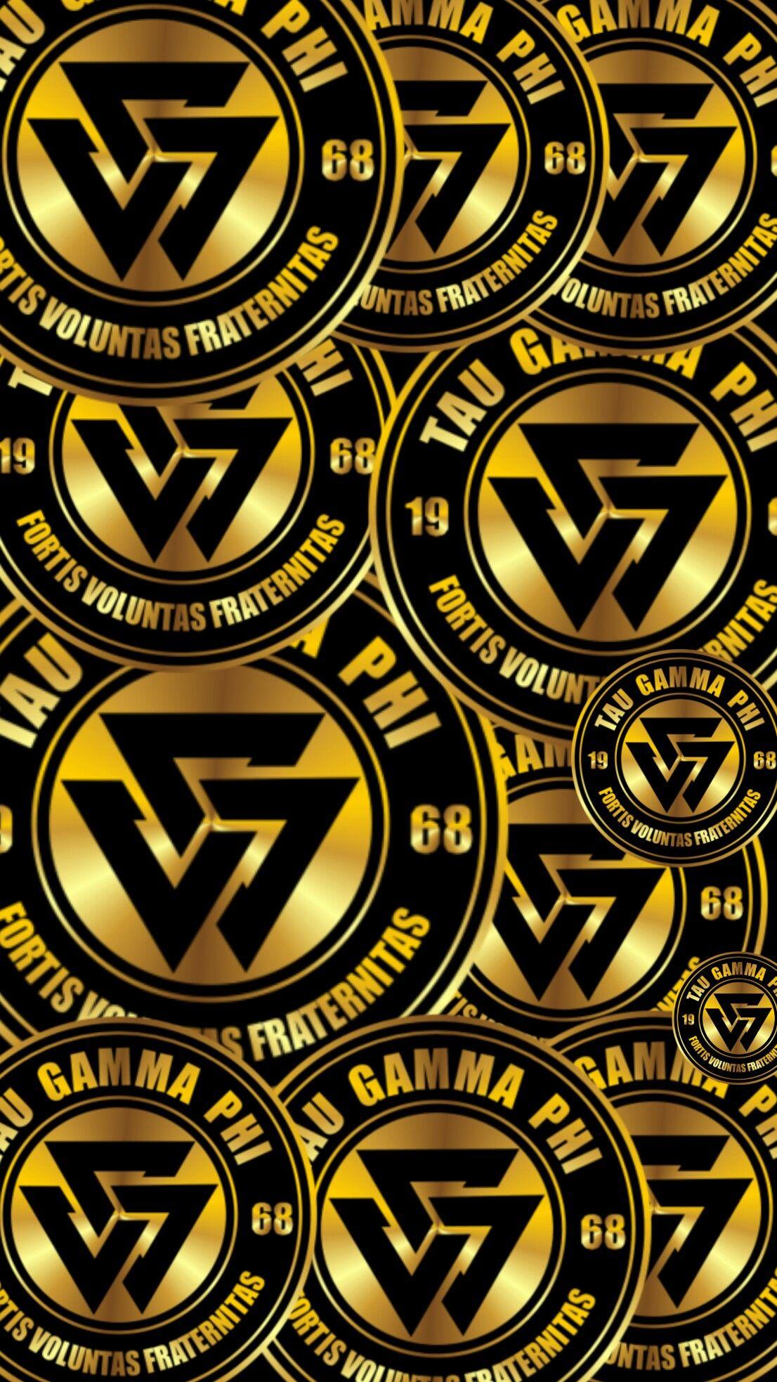 Triskelion Tau Gamma Wallpaper Gold 50 Android Iphone Tau Gamma Gamma Phi Ha Wallpaper