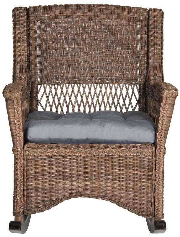 Magnificent Mistana Jalyn Rocking Chair In 2019 Products Wicker Short Links Chair Design For Home Short Linksinfo