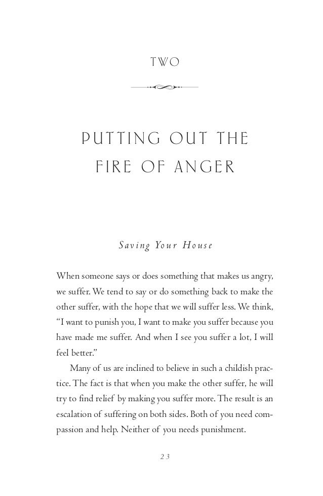 Putting Out The Fire Of Anger Thich Nhat Hanh Buddhism Buddhist Books Meditation Quotes To Live By Words Wise Words