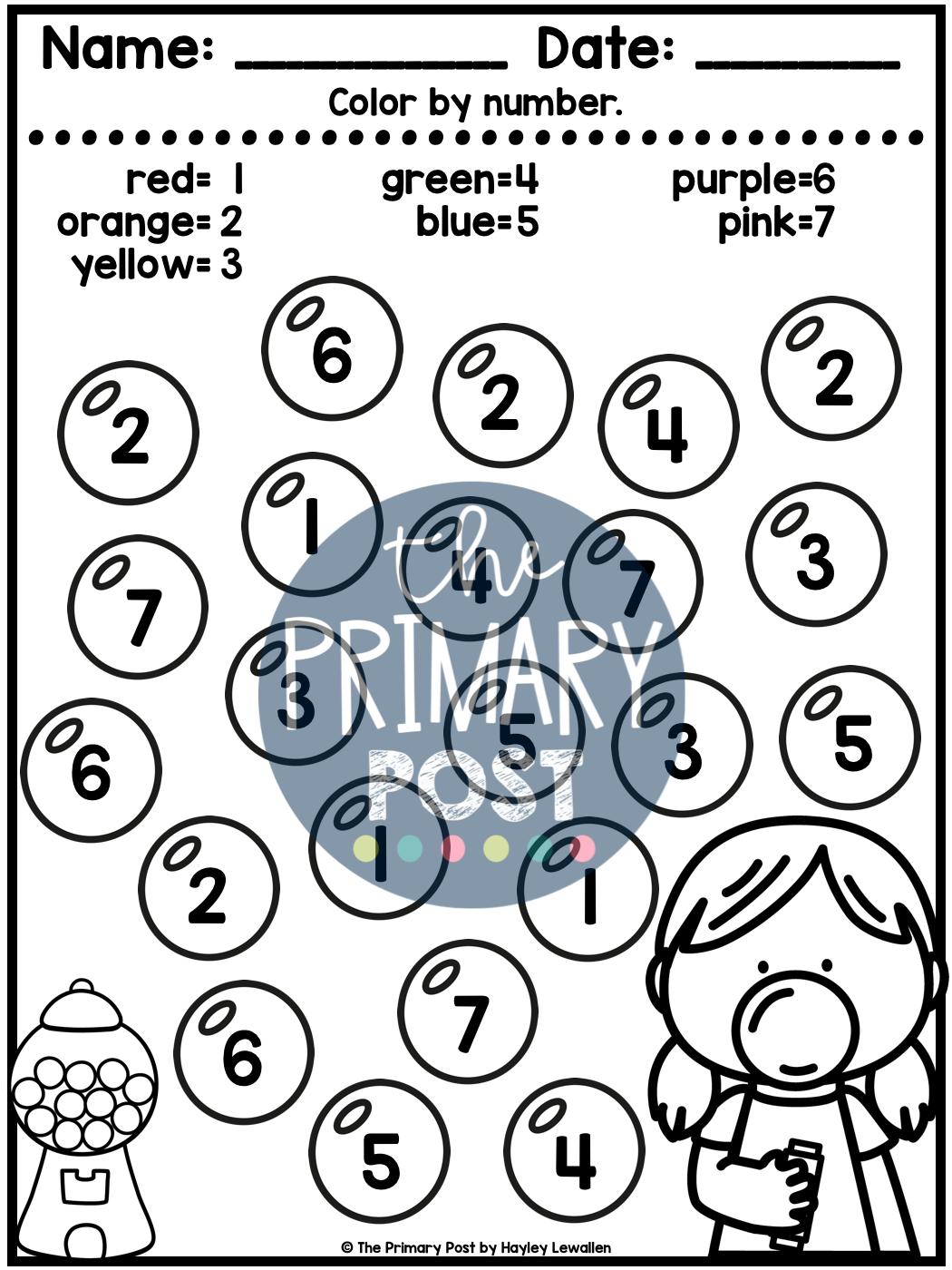 Numbers 1 20 Worksheets In